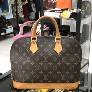 Louis Vuitton Alma borsa a mano Monogram